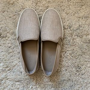 Vince slip on sneakers. Size 7